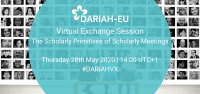 DARIAH Virtual Exchange Session: The Scholarly Primitives of Scholarly Meetings